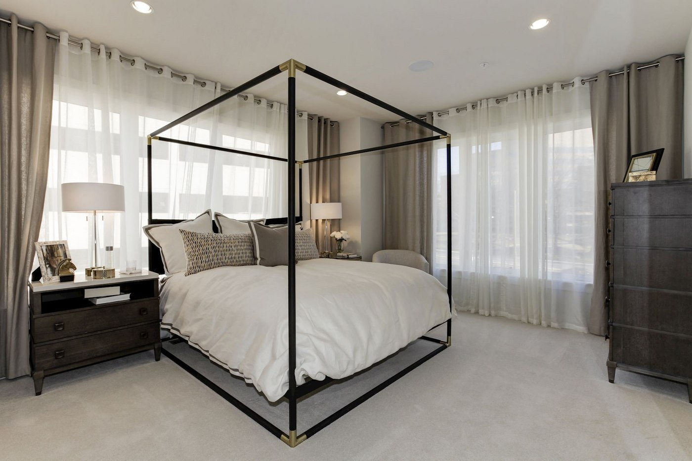 Bedroom at Montgomery Row